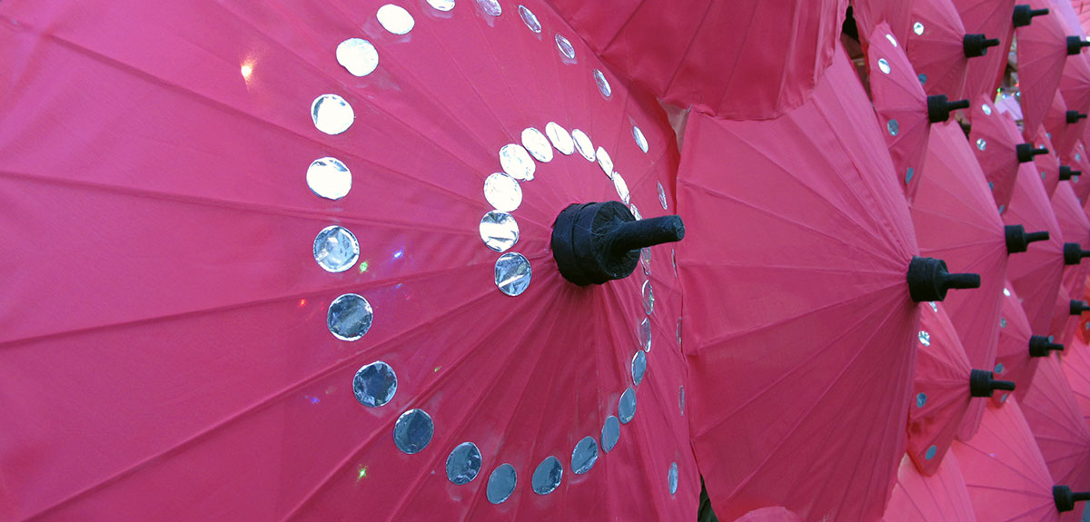 Chiang Mai Umbrellas