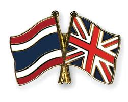 British Thai flag