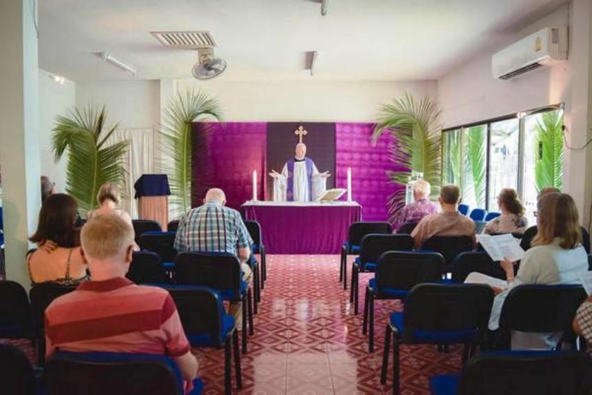 Palm Sunday at All Saints